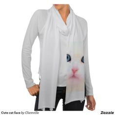 #Sold! #Cute #cat face #scarf