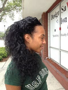 Nappy Savvy Chick....sew in with sassy mitchell