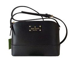 Kate Spade Wellesley Hanna Black Leather Crossbody WKRU28... https://www.amazon.com/dp/B00OGSEPAI/ref=cm_sw_r_pi_dp_gAVGxbY0YET26