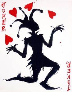 Joker Juggler Painting by Mark Hanham Joker Playing Card, Playing Cards Art, Arte Do Hip Hop, Hip Hop Art, Joker Card Tattoo, Jester Tattoo, Joker Art, Batman Art, Batman Robin