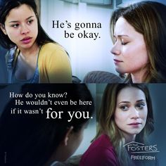 "S4 Ep11 ""Insult to Injury"" - Ouch. #TheFosters"