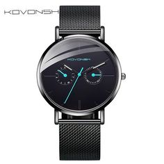 KOVONSH Men's Watch Fashion Mesh Band Belt Men Watches Stainless Steel Business Gentleman Watch Boys Gifts Present From Touchy Style Outfit Accessories ( Silver White ) Cheap Luxury Watches, Best Affordable Watches, Cheap Watches For Men, Rolex Watches For Men, Vintage Watches For Men, Black Watches, Mens Watches Under 100, Apple Watch Fashion, Metal Watch Bands