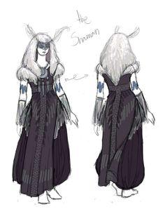 Moth Shaman by IzzyLawlor on deviantART