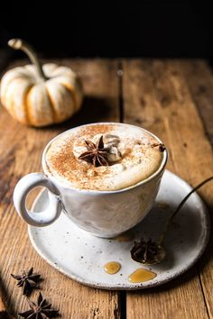 – Half Baked Harvest You are in the right place about southern recipes -Spiced Pumpkin Maple Latte. – Half Baked Harvest You are in the right place about southern recipes - Tea Recipes, Coffee Recipes, Pumpkin Recipes, Fall Recipes, Zone Recipes, Coconut Recipes, Drink Recipes, Pumpkin Spice Latte, Spiced Pumpkin