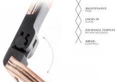 Gabe Wood Eyewear From Austria | Optical Vision Resources