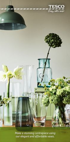 From a blue-tinted, recycled glass vase at just £8 to a sleek frosted cylinder vase at only £4, we have the perfect vases to show your flowers off in just the right way – whether it is a single stem or a bouquet in full bloom.