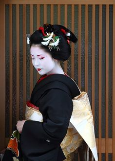 Fukuyu (became geiko; now retired) of Miyagawacho