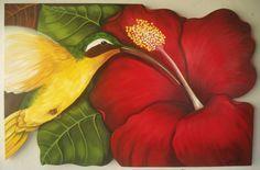 flores hibisco - Buscar con Google