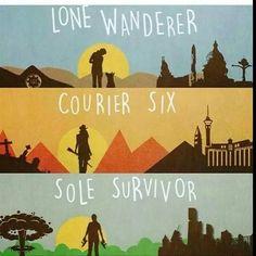 PREFIERO EL LONE WANDERER (Si, soy un fan de Fallout 3 y no, no me gusta tanto New Vegas)