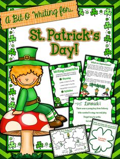 'A Bit O'Writing for St. Patrick's Day' offers you a range of Graphic Organizers and Templates to help engage and encourage students to write about St. Patrick's Day.