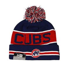7cc52ba12b2 Chicago Cubs  The Coach  Cuffed Pom Knit by New Era