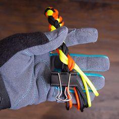 Knotenblog: Hundehalsband - rundgeflochten
