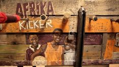 African foosball art and design