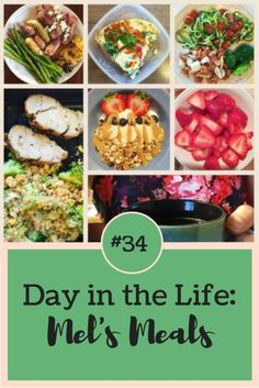 Day in the Life: Mel's Meals [#34] - Eat. Lift. Play. Repeat. | Healthy, quick meals don't have to be difficult or boring! Follow me as I eat clean foods without any fancy schmancy recipes. Just healthy, whole foods like lean protein, fruits and vegetables! Click through to see my full day of clean eating!