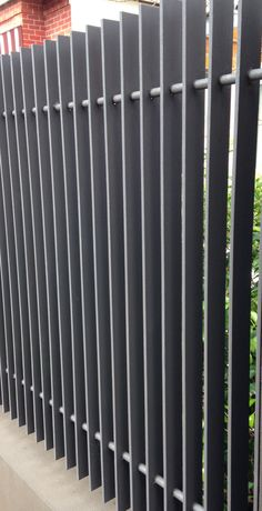 metal fence balustrade steel - Google Search