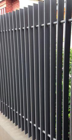 metal fence balustrade steel - Google Search