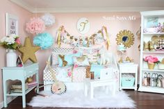 Sami Says AG-- American Girl Doll House Room, Tenney Grant