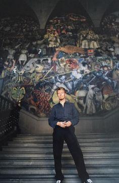 The White Duke, The Starman in Mexico city, 1997 R.I.P David Bowie, Mexico Loves you Photos: Fernando Aceves