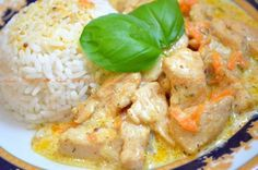 Chicken fillet in creamy mustard sauce There are a huge number of recipes for chicken, these dishes look great both on holiday and on the everyday Creamy Mustard Sauce, Chicken Recepies, Good Food, Yummy Food, No Salt Recipes, Hungarian Recipes, Mediterranean Recipes, How To Cook Chicken, Family Meals