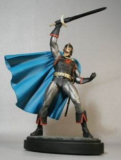 Black Knight Statue from Bowen Designs