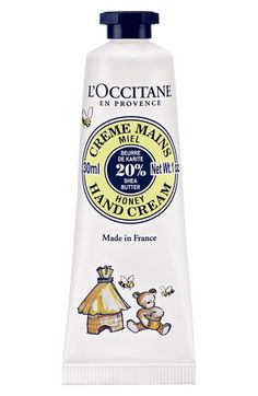 L'Occitane Honey hand cream - just another reason to make me want to eat myself.