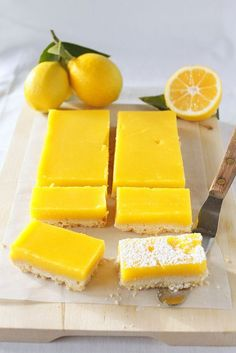 Meyer Lemon Bars #Storets #Inspiration #food