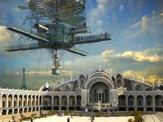 Science-Fiction Steampunk  Wallpaper