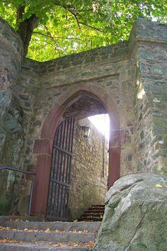 Gate to Castle Frankenstein Odinwald Germany  0e08ed9006f79512a3b693ea91de8dc2.jpg (1536×2304)