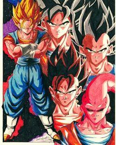 Reposting @lefthand._: Vegetto/MajinBuuSaga  Tags: #draw #drawing #drawingoftheday #art #kunst #artist #artwork #sketch #sketching #sketchbook #pencil #comic #db #dragonball #dbz #dragonballz #dbgt #anime #manga #instaart #ilustration #masterpiece #prismacolor #vegeta #majinvegeta #animeartshelp #majinbuu