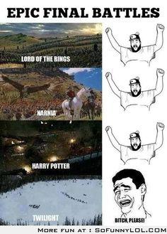 Epic Final Battles – LOTR, Harry Potter, Narnia VS Twilight