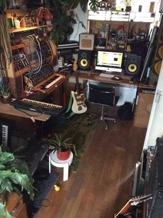 home recording studio | Tumblr