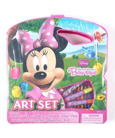 Minnie Mouse Art Set by Minnie's Bow-Tique #zulily #zulilyfinds