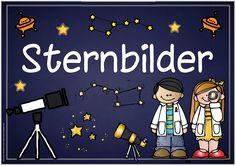 """Themenplakat """"Sternbilder"""" Das nächste Plakat zum Thema """"Sternbilder"""" ist fertig. Ich hoffe, es gefällt euch und ihr könnt es gebrauche..."""