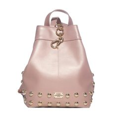 Metallic Pink, Fashion Bags, Leather Backpack, Bucket Bag, Backpacks, Fashion Handbags, Leather Backpacks, Backpack, Backpacker
