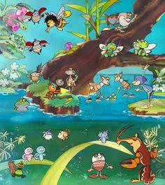 Haui József: Vízipók-csodapók Inner Child, Puppets, Nostalgia, Animation, Hungary, Children, Illustration, Artist, Cartoons