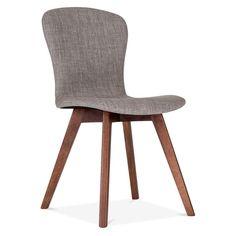 Cult Living Hudson Upholstered Dining Chair - Light Grey
