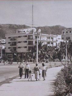 Hotel La Marina 1938-80 Arq Carlos Lazo Costera Miguel Alemán y plaza Álvarez Centro  Desaparecido