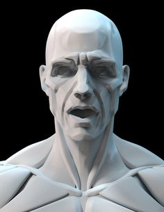 ArtStation - Planes of the head - Bammes style anatomy study, John Chen