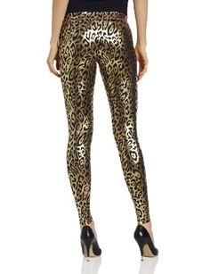 Loving these for the river! lol Would be awesome!  Amazon.com: Betsey Johnson Women's Liquid Leopard Metallic Legging: Clothing