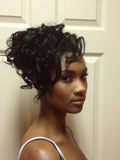 Updo Hairstyles For African American Weddings Awesome 470 Best Wedding Hair Images On Pinterest