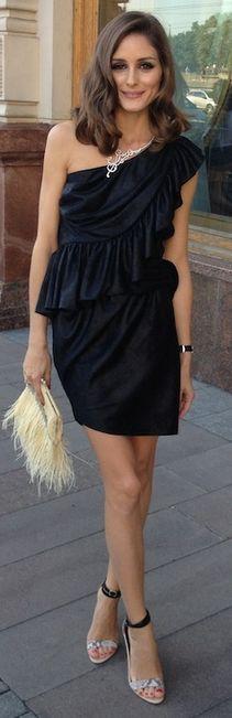 Olivia Palermo con joyas de Carrera y Carrera, zapatos de Tibi y vestido de Bensoni