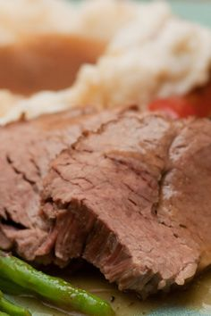 Awesome Slow Cooker Roast Beef