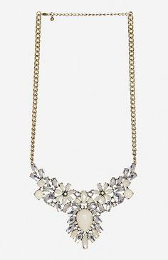 Floral Gem Necklace