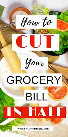 Groceries and meal planning on a budget! How to cut your grocery budget in half . Groceries and meal planning on a budget! How to cut your grocery budget in Money Saving Meals, Best Money Saving Tips, Save Money On Groceries, Groceries Budget, Frugal Meals, Cheap Meals, Budget Meals, Healthy Meal Prep, Healthy Eating