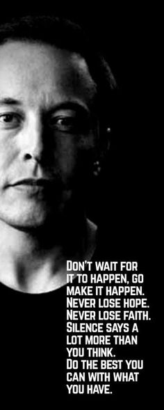 """elon musk quotes elon musk quotes successful people elon musk quotes motivation elon musk quotes inspiration elon musk quotes business"""" elon musk quotes """" The post elon musk quotes elon musk quotes successful peopl… appeared first on Best Pins for Yours. Top Quotes, Best Quotes, Life Quotes, Friend Quotes, Funny Quotes, Elon Musk Zitate, Elon Musk Quotes, Successful People Quotes, Leadership"""