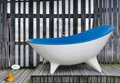 Bath tub. Rubba dub dub