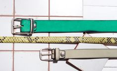 Summer Collection, Belt Buckles, Switzerland, Belts, Facebook, Womens Fashion, Green, How To Make, Leather