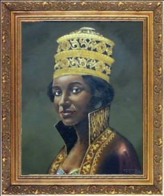 Makeda, Queen of Sheba. Legend says her union with King Solomon produced a son named Menelik. Her dynasty ended in 1975 with the death of Ethiopian emperor Haile Selassie.