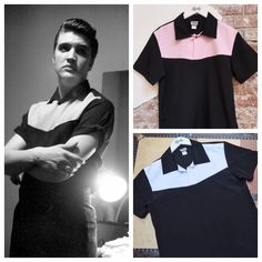 shirt that Elvis wore on The Milton Berle Show is now available at Lansky's and online! http://www.lanskybros.com/The-Milton-Berle-Shirt-P2226.aspx