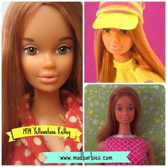 1974 Yellowstone Kelley | Mod Barbie dolls blog: modbarbies.com - an engaging, fun, one-stop resource! #modbarbie #vintagebarbie #yellowstonekelley #barbie #kelleydoll #vintagekelley #kelleybarbie #barbiedoll